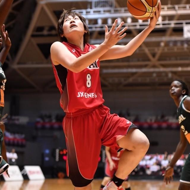 21得点を挙げた#8髙田 真希選手