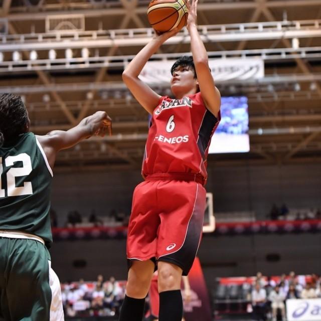 攻守に渡って活躍した#6間宮 佑圭選手は14点、12リバウンド