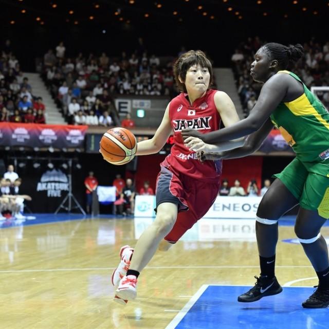 3戦通じて積極的にアタックしていった#8髙田 真希選手
