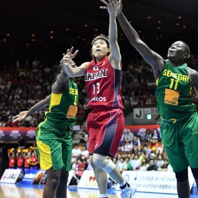 身長では負けていてもスピードで上回る#13町田 瑠唯選手